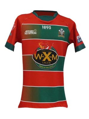 North Wales Crusaders Away Shirt Front