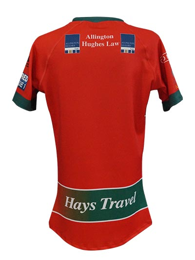 North Wales Crusaders Away Shirt Back
