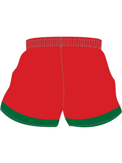 North Wales Crusaders Home Shorts Back