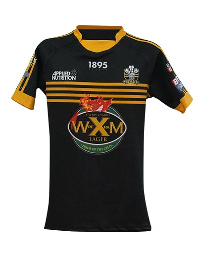 North Wales Crusaders Home Shirt Front