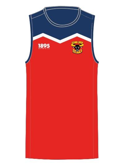 Back Quay Bulls Training Vest Front