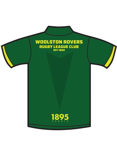 Woolston Rovers Off-field Home Tee Back